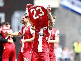 Doppelter Kühlwetter: Kaiserslautern glückt Saisonabschluss
