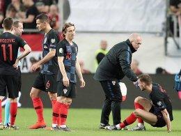 Kroaten unter Schock: Modric befürchtet