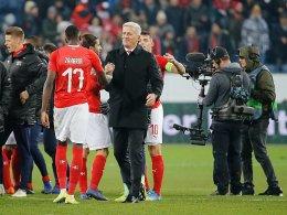 Mit Bundesliga-Power: Schweiz gegen