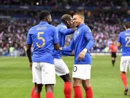 Mbappé überragt - Frankreich schlägt Island deutlich