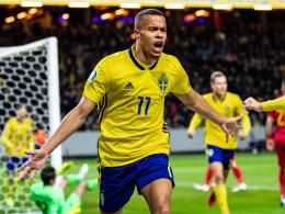 Quaison und Claesson bringen Schweden auf Kurs