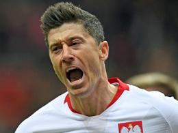 Lewandowski erlöst seine Polen nach schwerem Kampf gegen Lettland