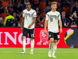 0:3 - DFB-Elf geht in Amsterdam in der Endphase unter