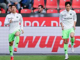 Haraguchi und Asano: Endlich da - und bald lange weg
