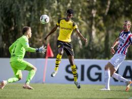 BVB leiht Isak bis Saisonende an Willem II aus