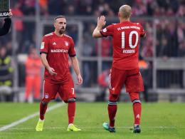 Robben, Ribery und Thiago - fit für Berlin?