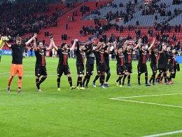 1053 Pässe! Leverkusen erinnert an Guardiolas Bayern