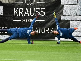 Baumann hat Konkurrent Kobel genau im Blick