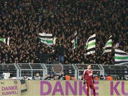 Pyro und Böller in Dortmund: DFB straft Gladbach ab