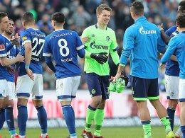 Helden unter sich: Schalke feiert Serdar und Nübel