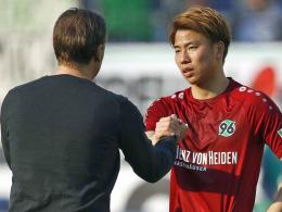 Interne Sperre für Asano ist