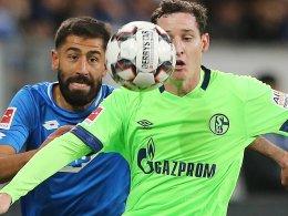 Schalke gegen Hoffenheim am Samstagabend auf Eurosport