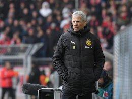 Dortmund: Favre nimmt seine Mannschaft in Schutz