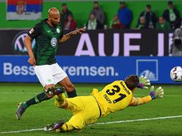Brooks belohnt Wolfsburg: 1:1 gegen Frankfurt