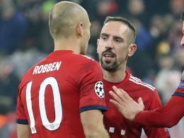 Robben und Ribery droht ein Abschied auf der Bank
