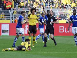 Sechs Schalkern droht eine Gelbsperre