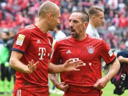 Robben und Ribery - Drei Spiele Abschiedstournee