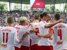 RB Leipzig feiert 10. Geburtstag