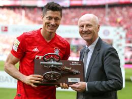 Lewandowski holt sich wieder die kicker-Torjägerkanone