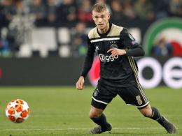 Bayer zeigt Interesse an Ajax-Profi Sinkgraven