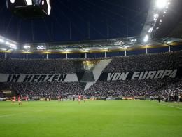 UEFA verurteilt Frankfurt zu milder Geldstrafe