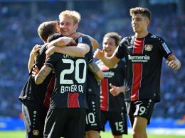 Leverkusen holt Platz 4, Mainz hilft Frankfurt