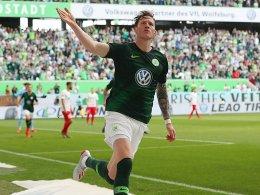 Weghorst verlängert in Wolfsburg