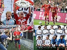 Alaba lauert: Die Serienmeister der Bundesliga