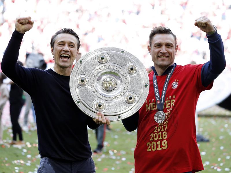 Kovac bleibt cool: So feiern die Bayern