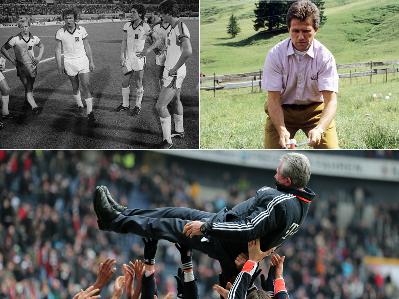 Rekordmann Gerd Müller - Verfolger Lewandowski