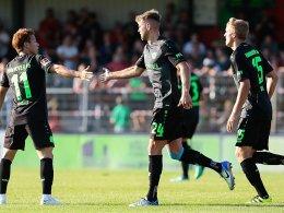 Wood trifft und scheitert: Hannover 96 behält weiße Weste