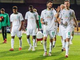 2:1 - Drobny und Joker führen Werder zum Sieg