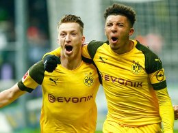 90.+2! Reus belohnt druckvolle Dortmunder
