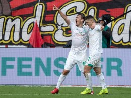 Kruse krönt seine Leistung: Werder kontert Bayer aus