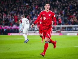 Dreierpack: James führt entfesselte Bayern an die Spitze