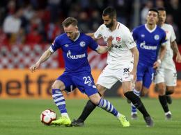 Teuchert vergibt doppelt - Schalke verliert 0:2 in Sevilla