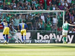 Pizarros Siegtreffer reicht Bremen nicht für Europa