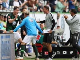 8:1! Weghorst schießt Wolfsburg nach Europa