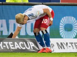 Wochenlange Zwangspause für HSV-Stürmer Hwang