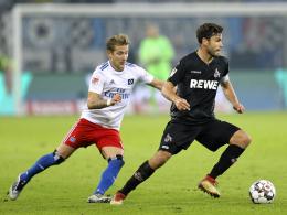 Zweitliga-Ansetzungen: Köln-HSV am Montagabend