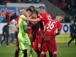 Nach Patzer: FCH-Keeper Müller denkt an einen 80-Meter-Sprint