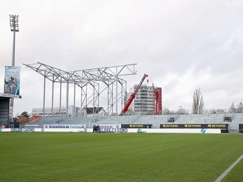 Rechtzeitig für St. Pauli: 4000 neue Stehplätze in Kiel