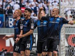 HSV muss Aufstieg abhaken - Paderborn verteidigt Rang zwei