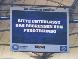 Wieder der HSV: Strafe für Pyrotechnik