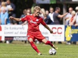 Trotz Rot kein Platzverweis bei Kieler Sieg
