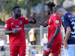 3:2 nach 0:2 - HSV dreht Testspiel gegen Aarhus