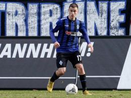Gianluca Korte geht mit Mannheim in die 3. Liga