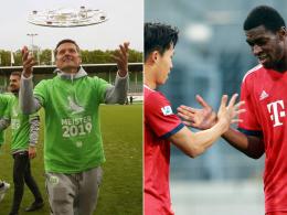 Wolfsburg II gegen Bayern II: Wer holt sich das Drittliga-Ticket?