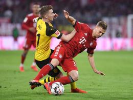 Watzke happy: Dortmund im Supercup gegen Bayern