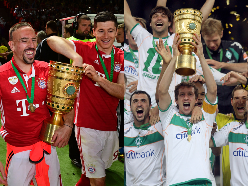 Eine Super-Serie reißt: Fakten zu Bremen gegen Bayern